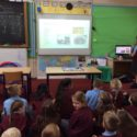 Niamh in Y6 Delivers Lesson on Rocks to Y3!