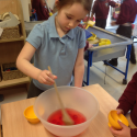 Making Jelly in Reception