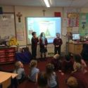 Year 2's visit from the Fire Service
