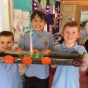 Year 5's Viking Longships