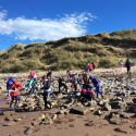 Year 5's Trip to Holy Island