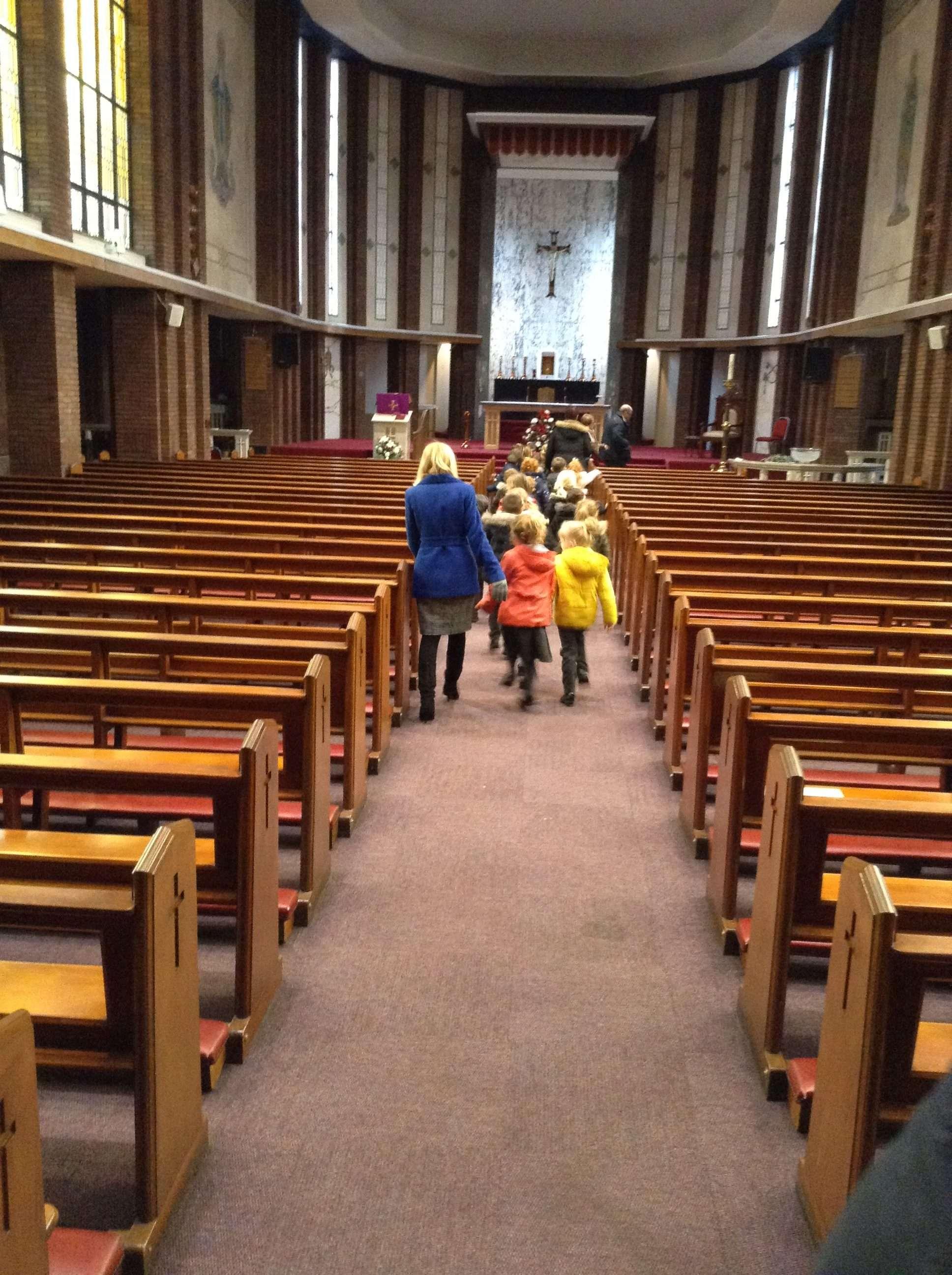Reception's Church Visit