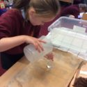 Y3 Helps Archimedes Investigate Water Displacement
