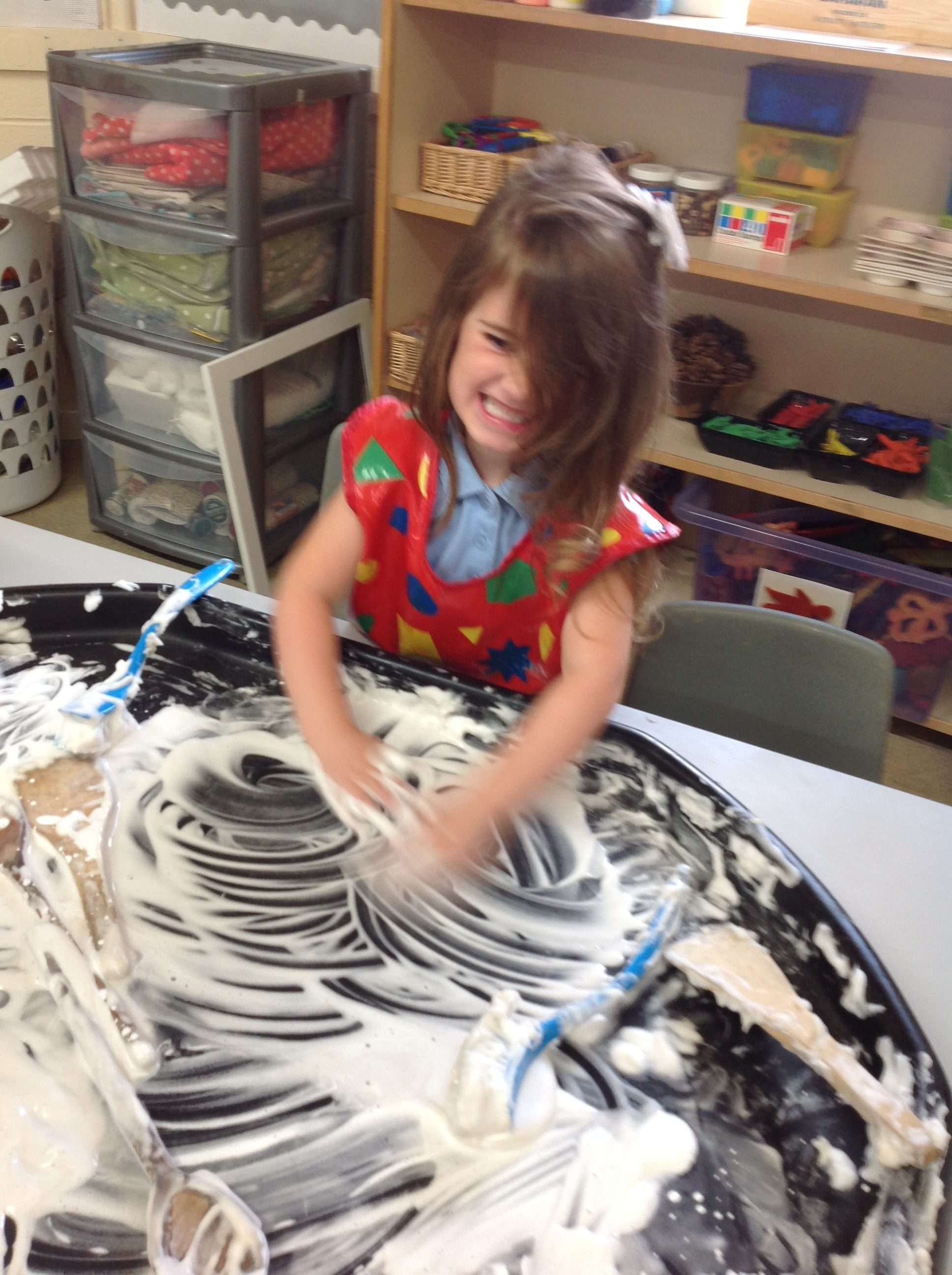 An exciting first half term in Nursery