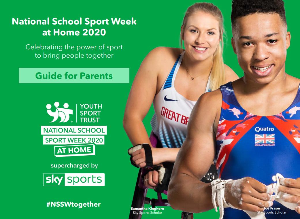 National Sports Week at Home