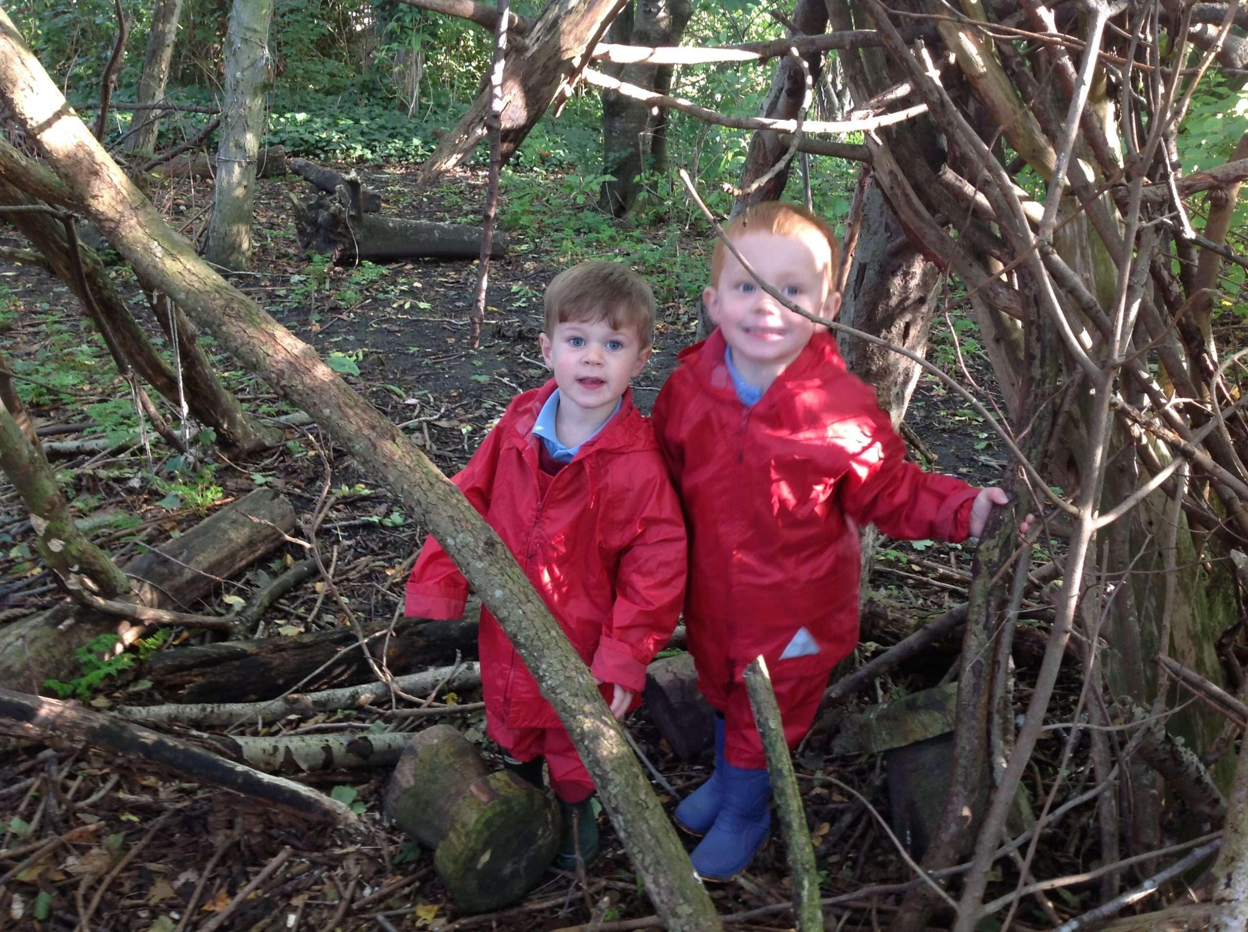 Forest School in Nursery