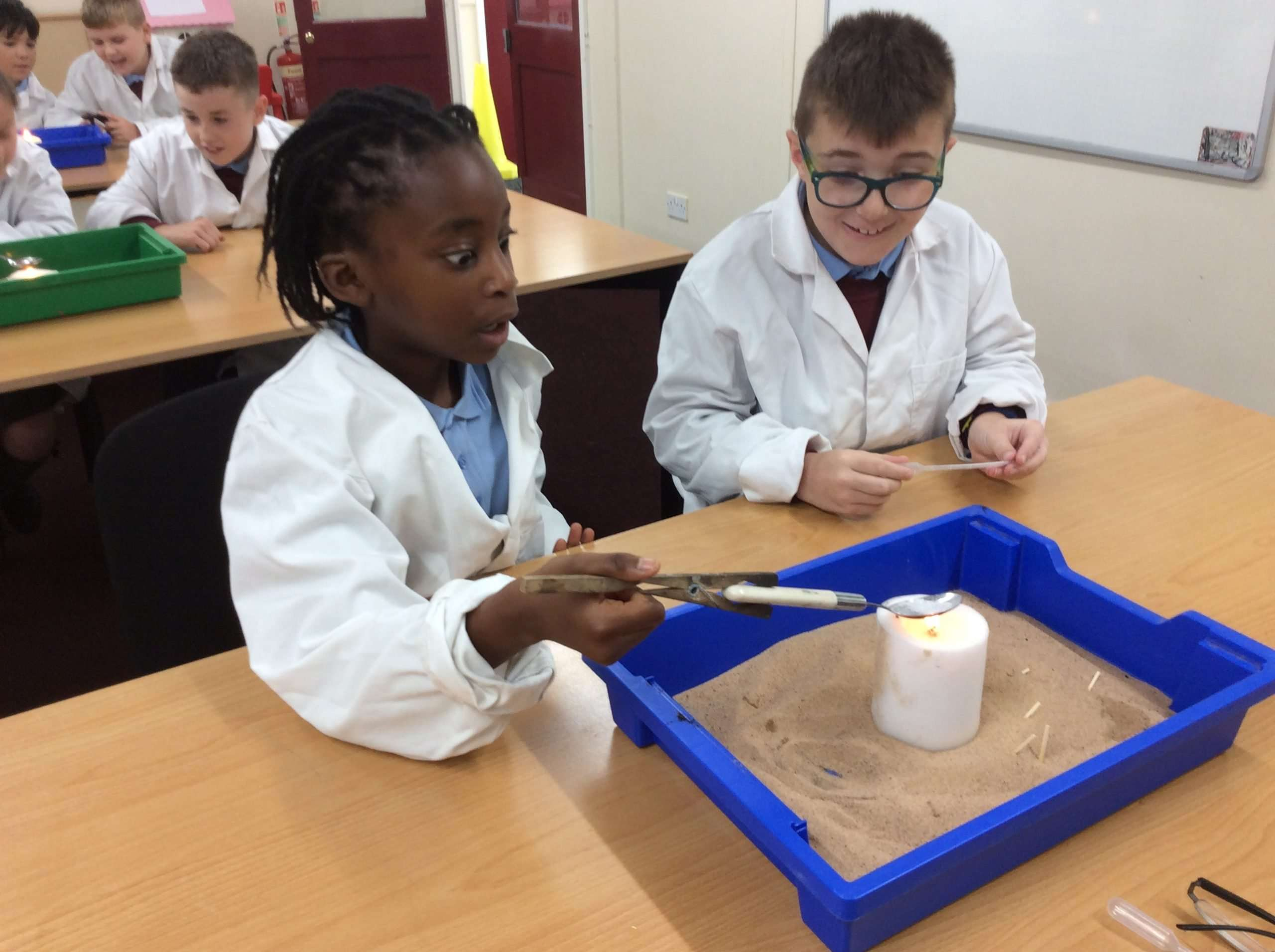 Science in Y5 – Changing and separating materials